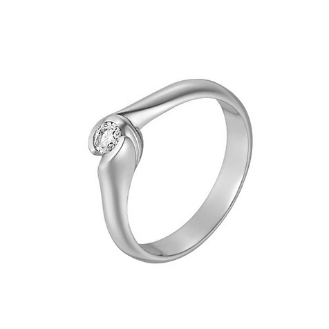 CHRIST Solitaire Damenring 60036195