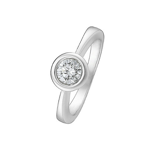 CHRIST Solitaire Damenring 60015066