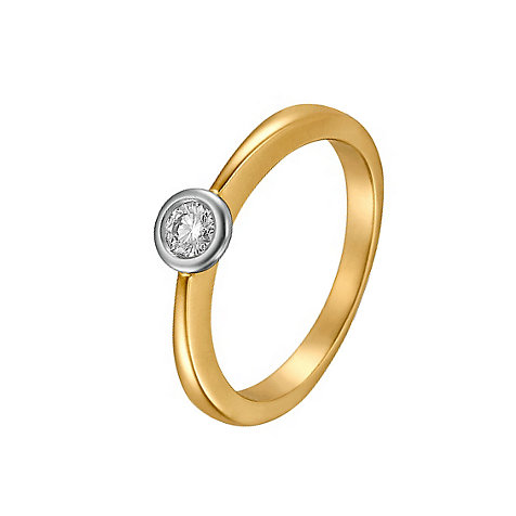 CHRIST Solitaire Damenring 60019495