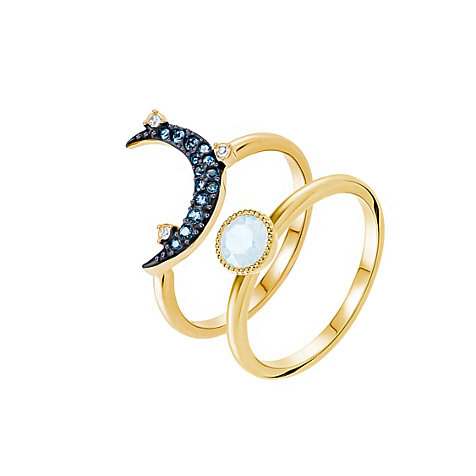 Swarovski Damenring Duo Ring Moon Mont