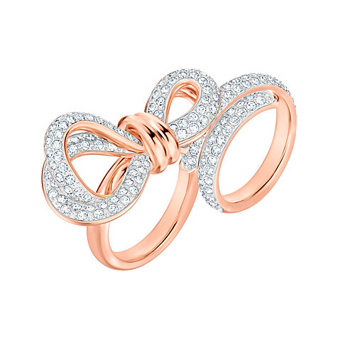 Swarovski Damenring Lifelong Bow 5474927