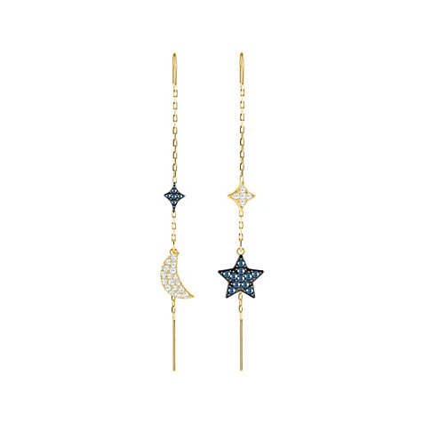 Swarovski Ohrstecker Duo Moon 5412881