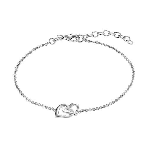 CHRIST Silver Diamonds 925er Silber rhodiniert   0,01 Karat 3e426e0009