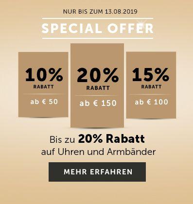 5572e53f425c44 Schmuck & Uhren jetzt online kaufen | CHRIST.de
