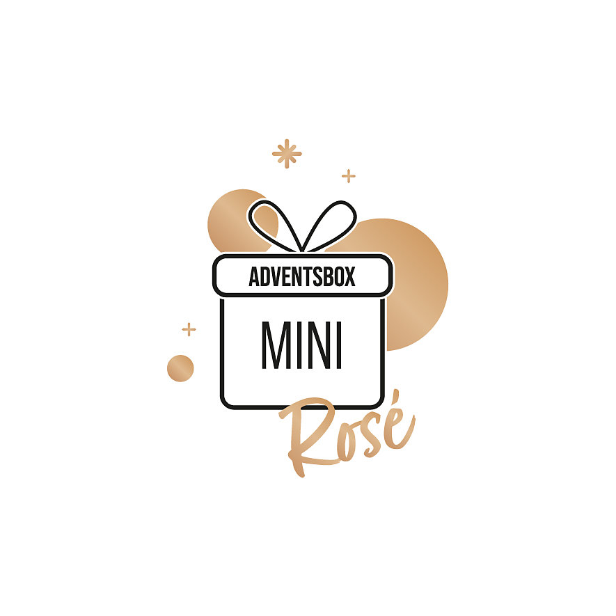 Adventsbox Roségold Mini 88098447
