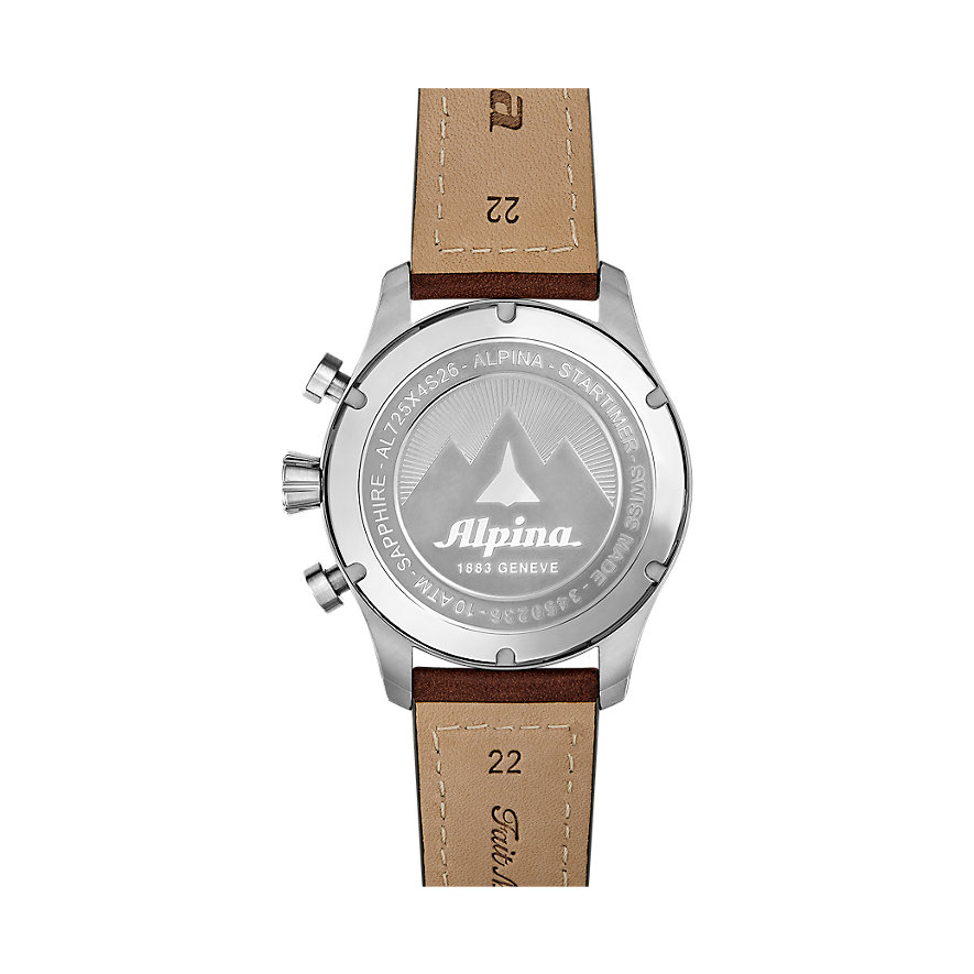 Alpina Chronograph Startimer AL-725N4S6