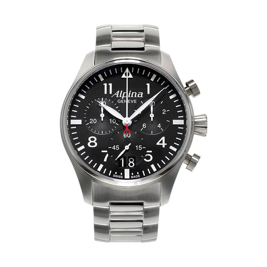 Alpina Chronograph Startimer Pilot Big Date AL-372B4S6B