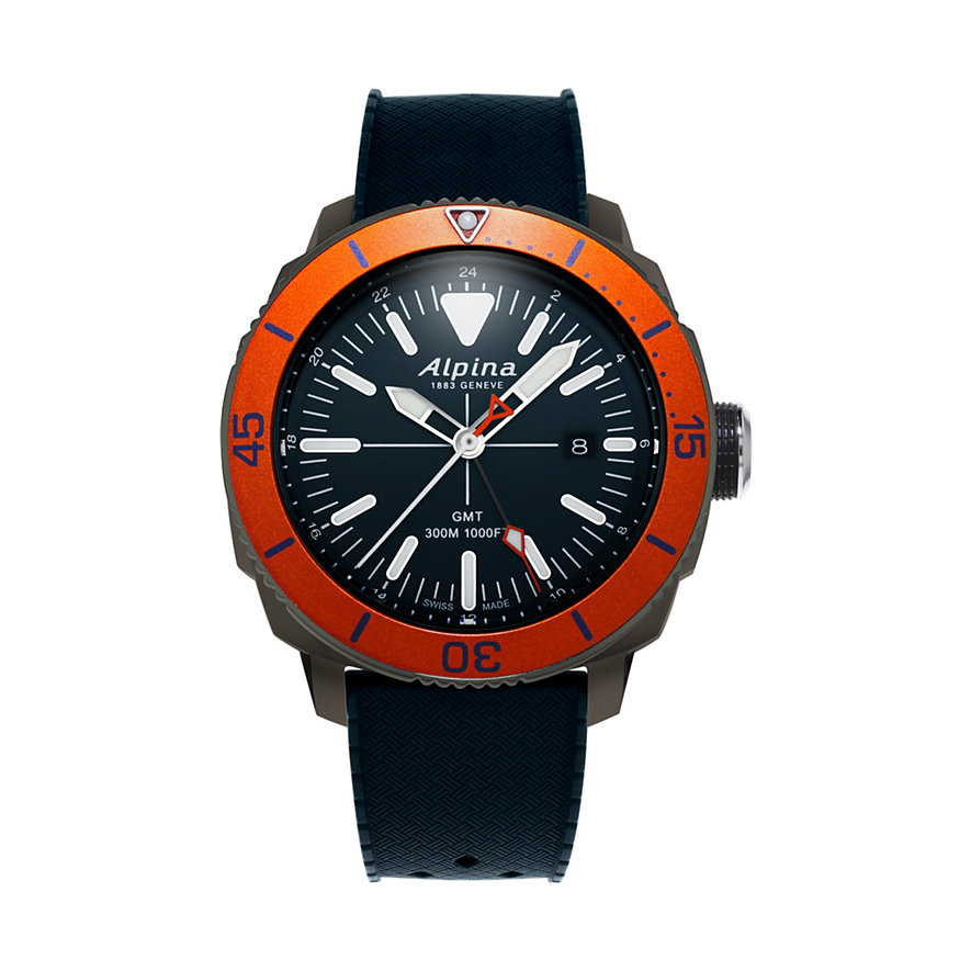 Alpina Herrenuhr Seastrong Quartz GMT AL-247LNO4TV6