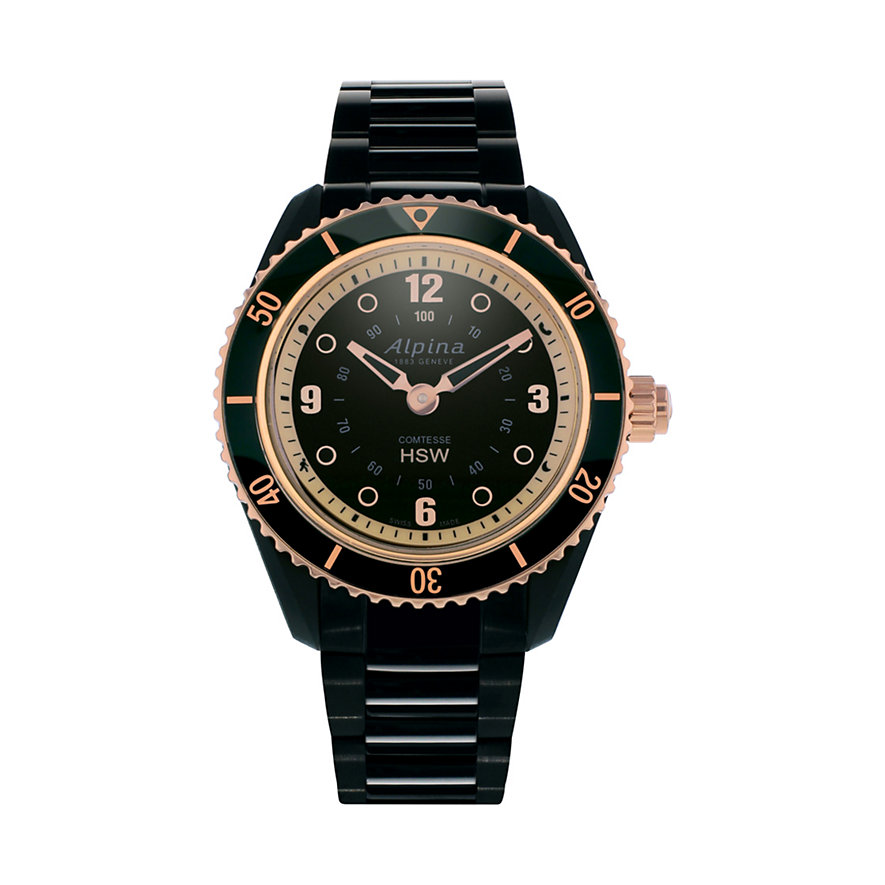 Alpina Smartwatch Comtesse AL-281BY3V4B