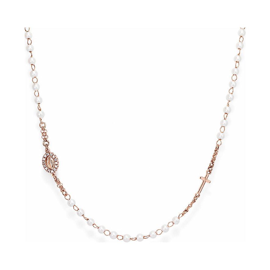 Amen Kette Rosaries pearls CRORBZ-M3