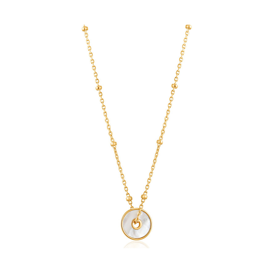 Ania Haie Kette Mother Of Pearl Disc N022-01G