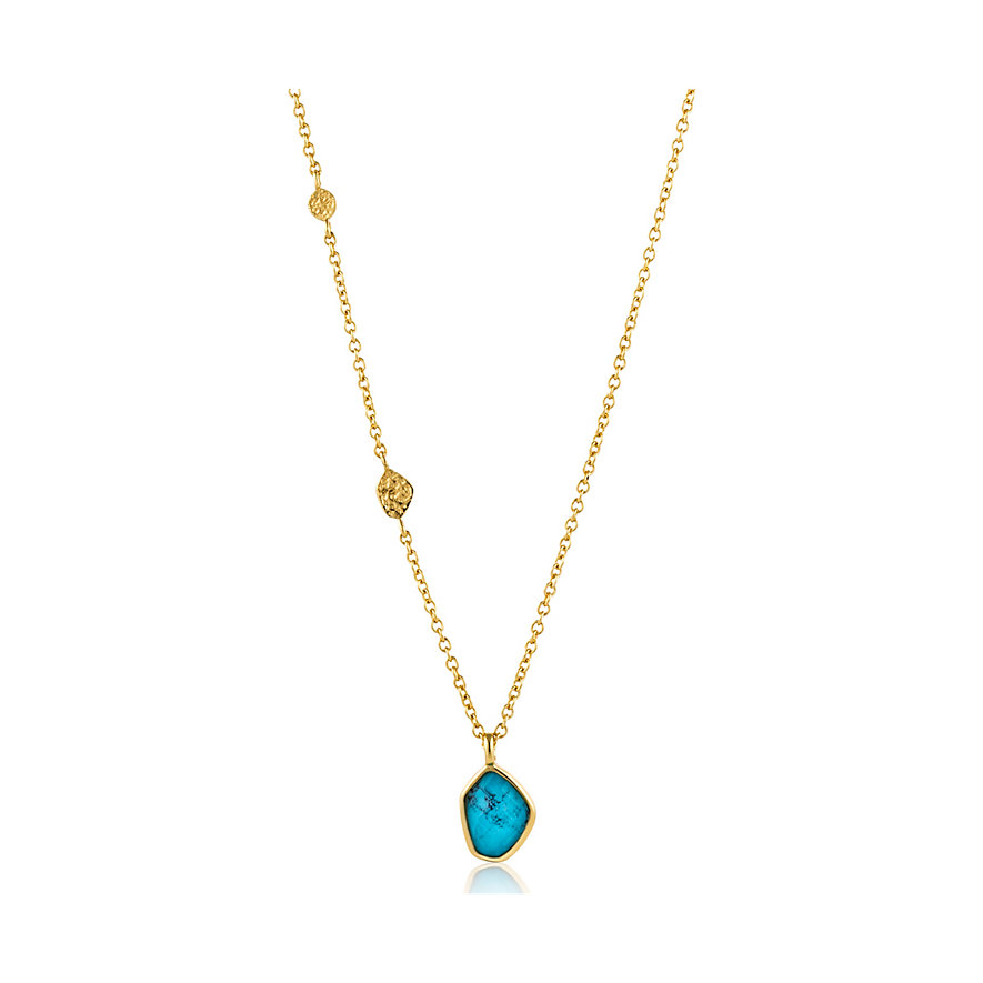 Ania Haie Kette Turquoise Pendant N014-02G