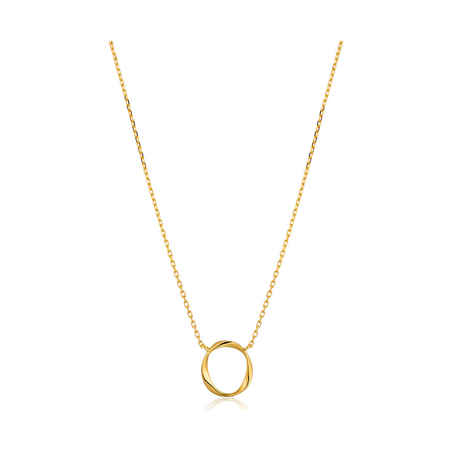 Ania Haie Kette/kette<5 Swirl Necklace N015-02G