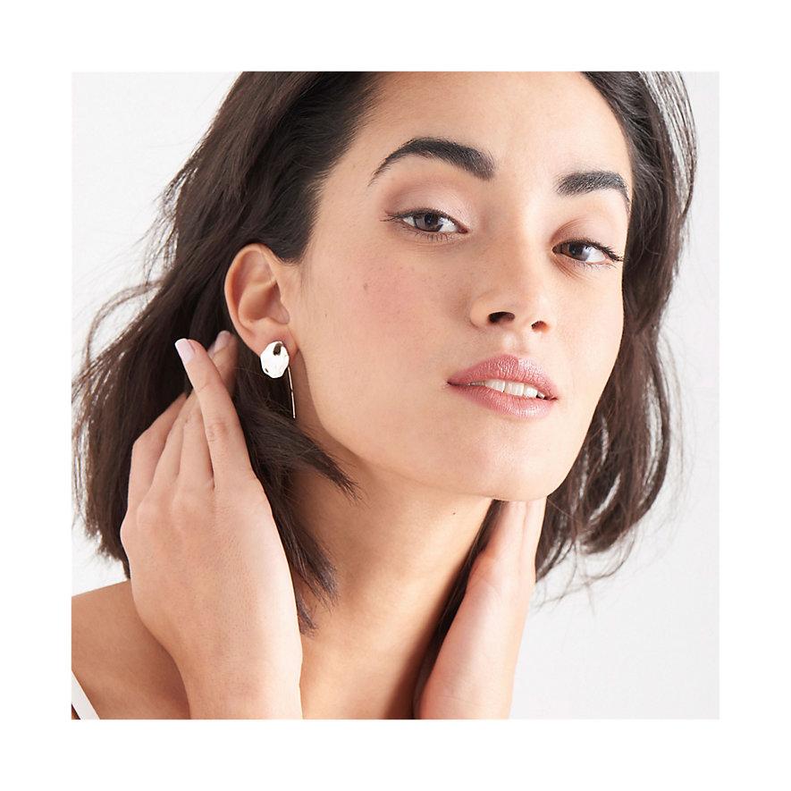 Ania Haie Ohrhänger Crush Disc Solid Drop Earrings E017-04H