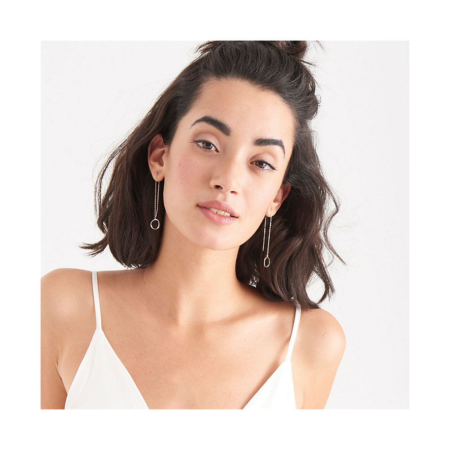 Ania Haie Ohrhänger Swirl Threader Earrings E015-03H