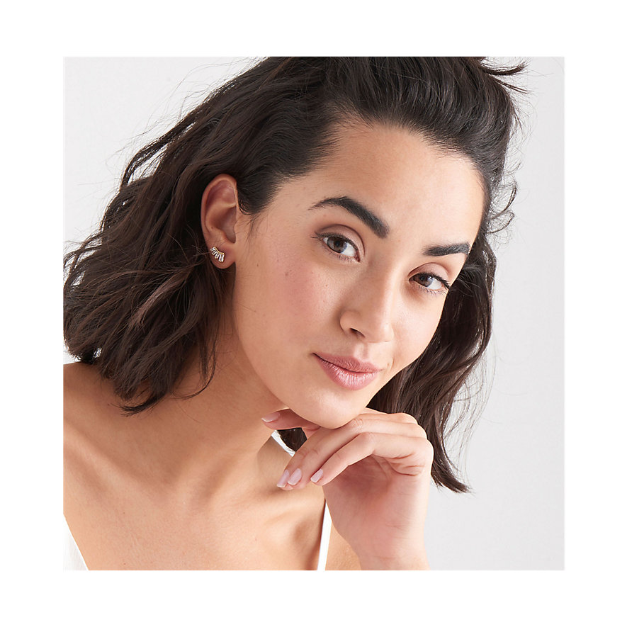 Ania Haie Ohrstecker Glow Bar Stud Earrings E018-04G