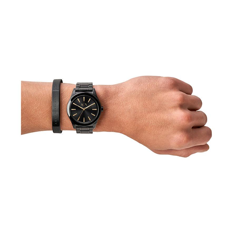 armani uhr armband matt