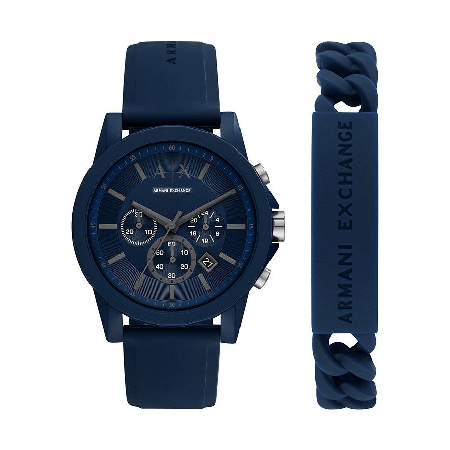 Armani Exchange Uhren-Set AX7128