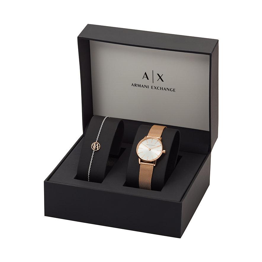 Armani Exchange Uhren-Set LOLA AX7121