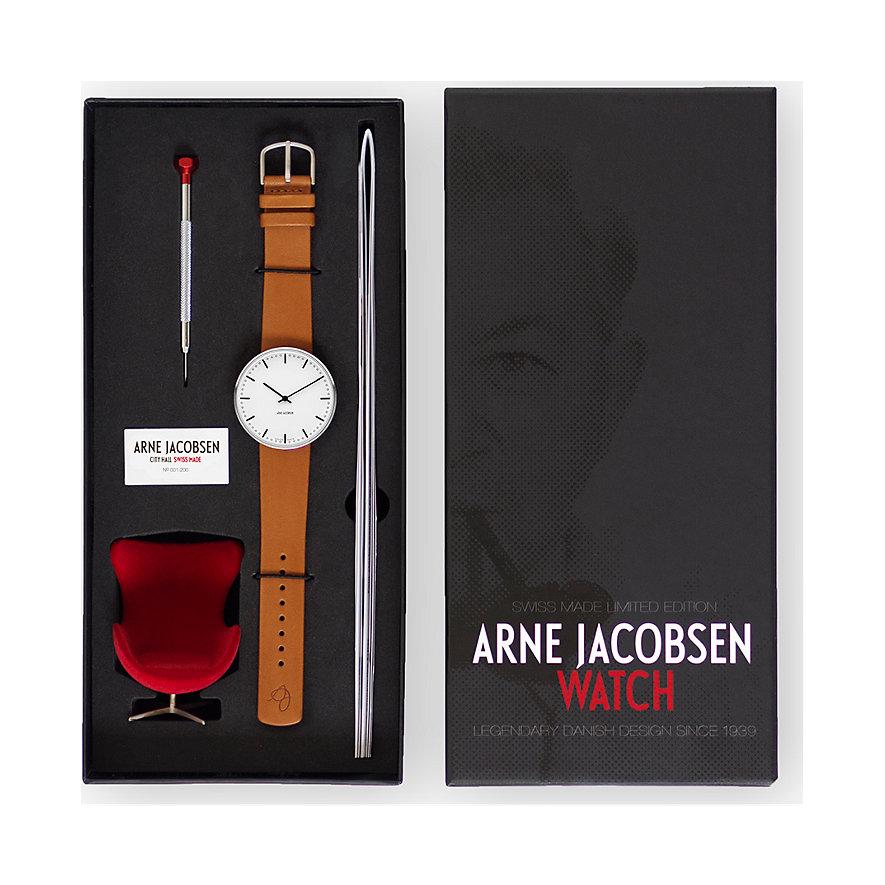 Arne Jacobsen Herrenuhr Swiss 57202-1897
