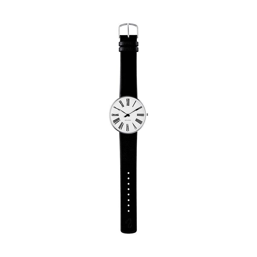 Arne Jacobsen Unisexuhr Roman 53302-2001