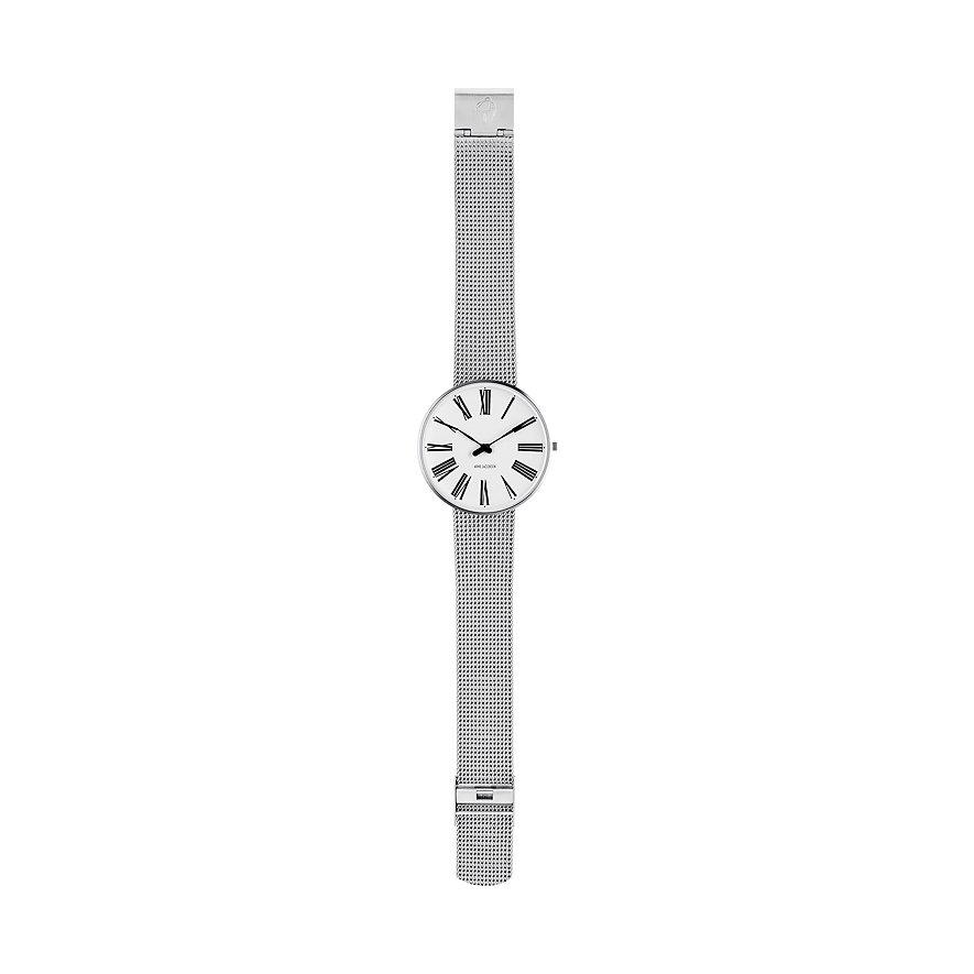 Arne Jacobsen Unisexuhr Roman 53302-2008