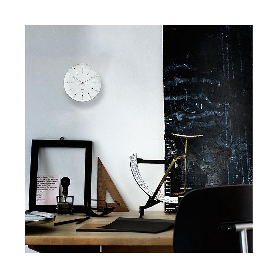 Arne Jacobsen Wanduhr Bankers 43630