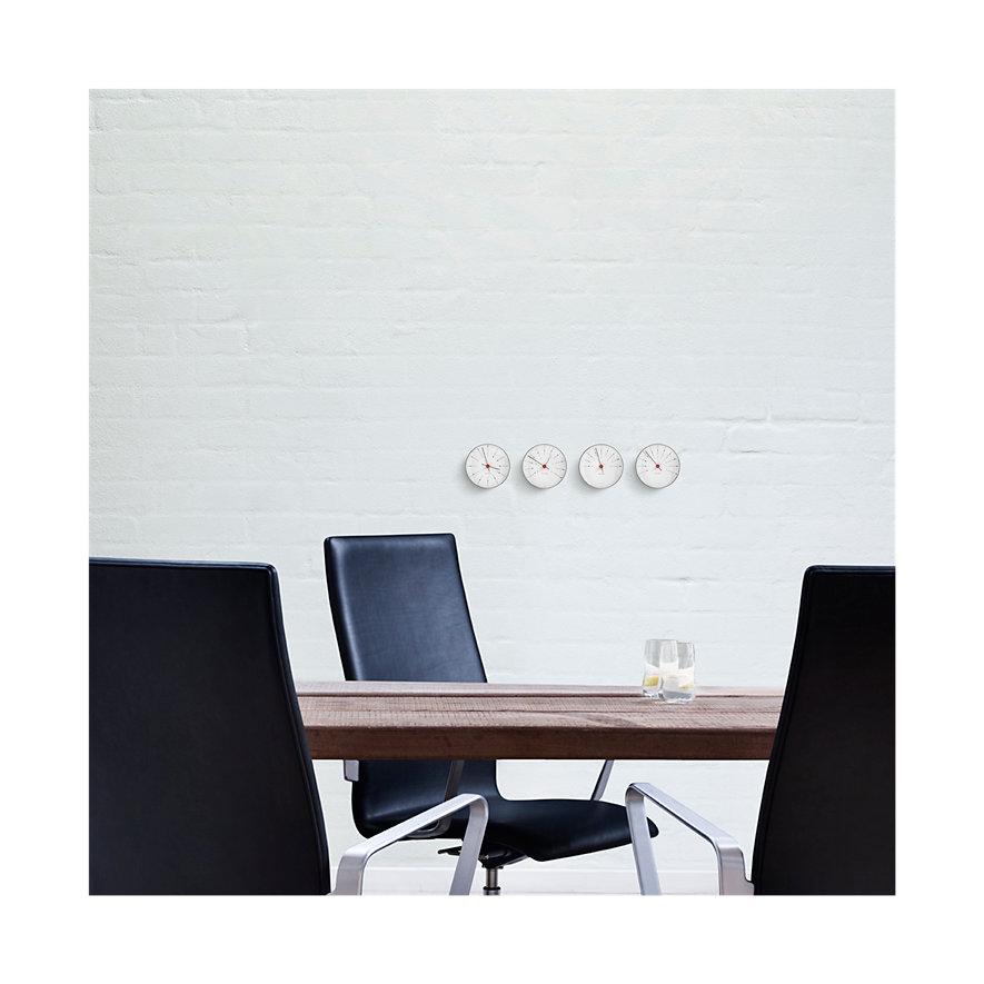 Arne Jacobsen Wanduhr Bankers 43688