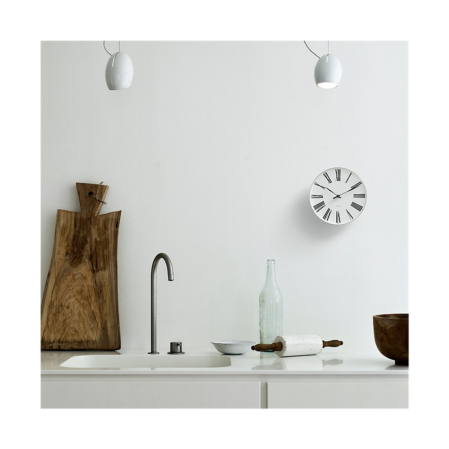 Arne Jacobsen Wanduhr Roman 43632
