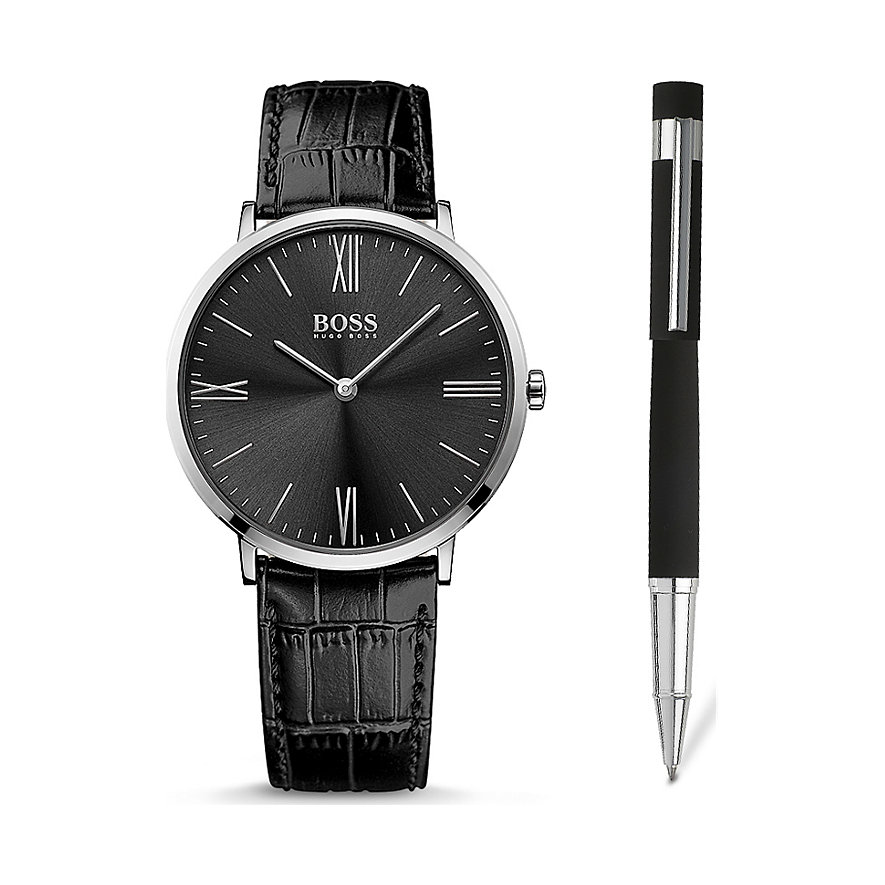 BOSS Herrenuhr Uhren-Set Jackson 1570074