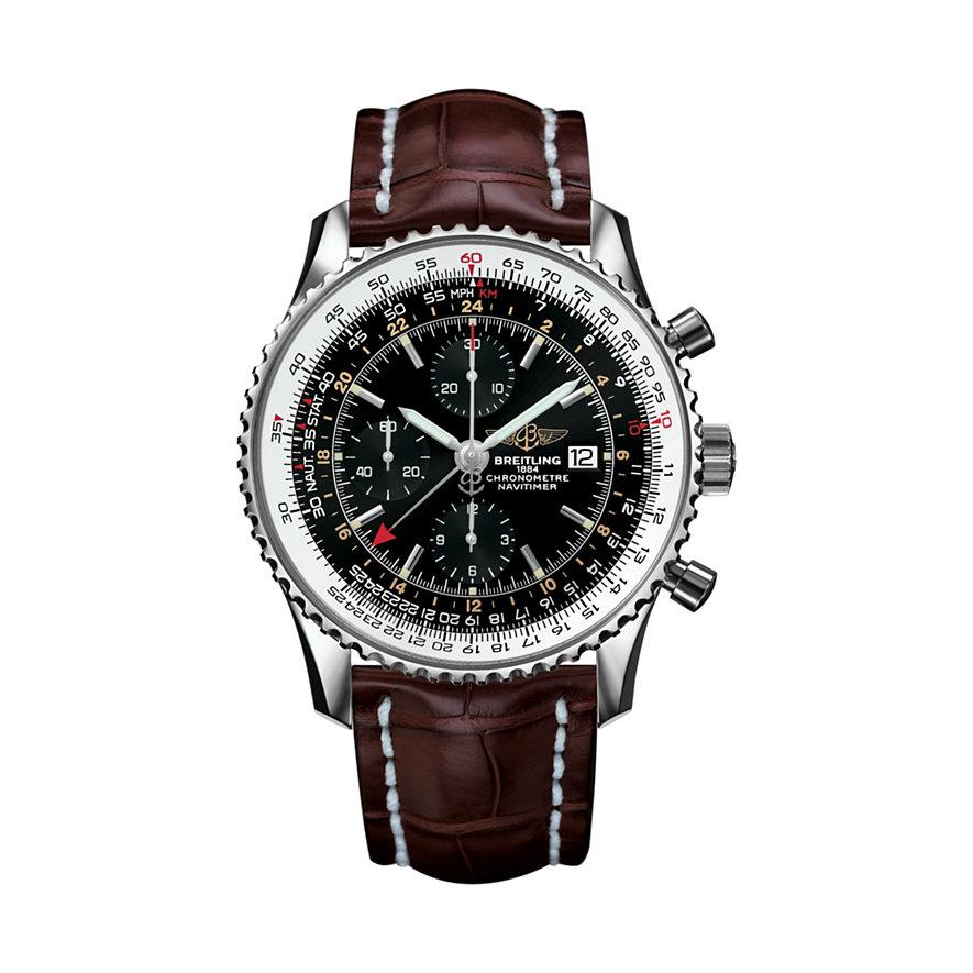Breitling Chronograph Navitimer 1 Chrono GMT 46 A2432212/B726/756P/A20BA.1