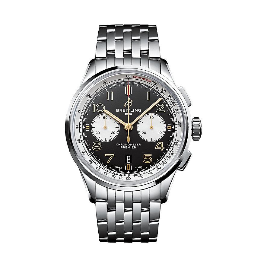 Breitling Chronograph Premier B01 Chronograph 42 Norton AB0118A21B1A1
