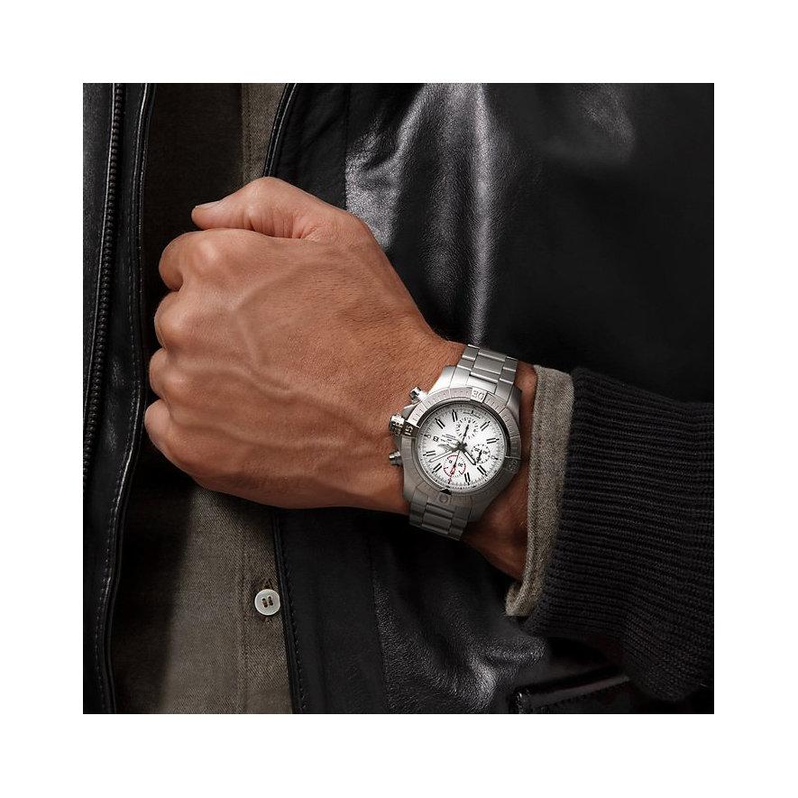 Breitling Chronograph Super Avenger Chronograph 48 A133751A1A1A1