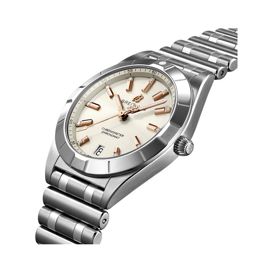 Breitling Damenuhr Chronomat A77310101A3A1