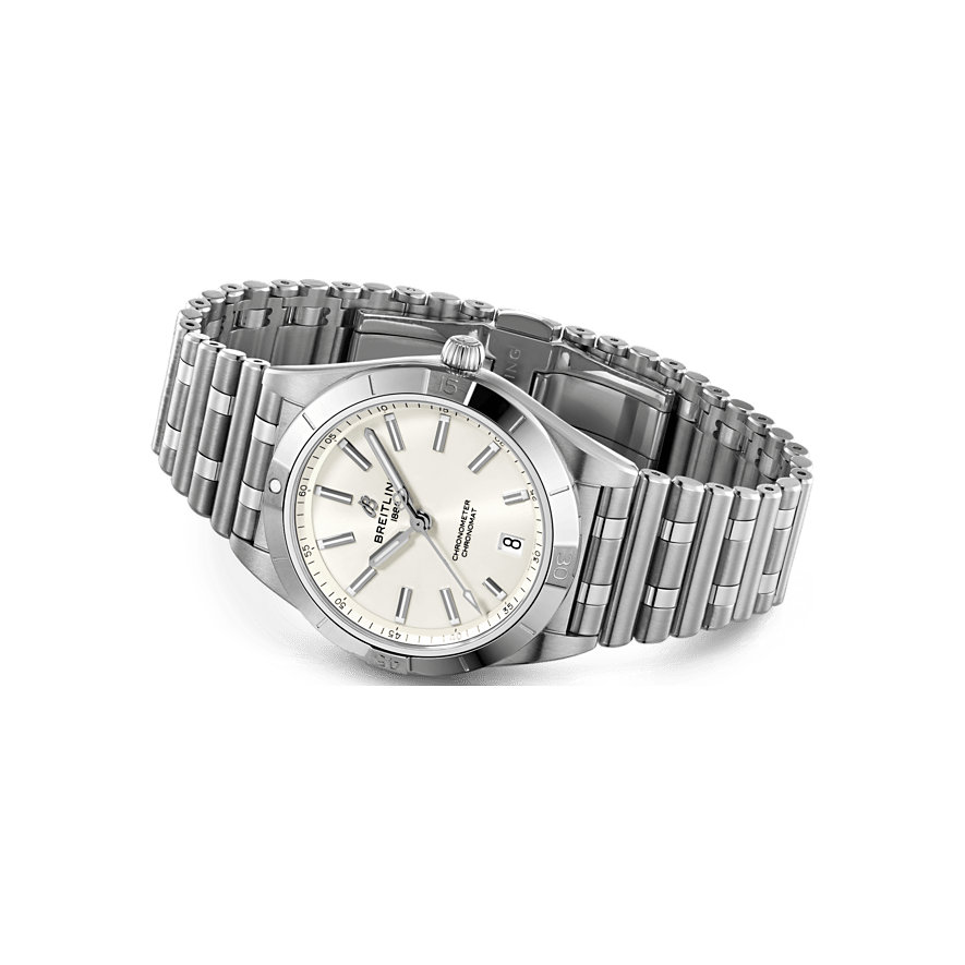 Breitling Damenuhr Chronomat Automatic 36 A10380101A3A1