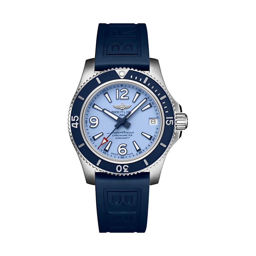 Breitling Damenuhr Superocean   A17316D81C1S1
