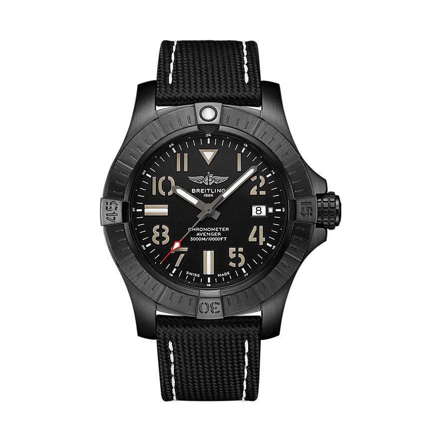 Breitling Herrenuhr Avenger Automatic 45 Seawolf V17319101B1X1