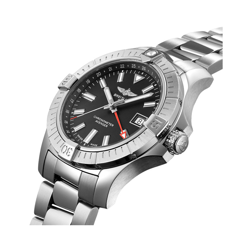 Breitling Herrenuhr Avenger Automatic GMT 43 A32397101B1A1