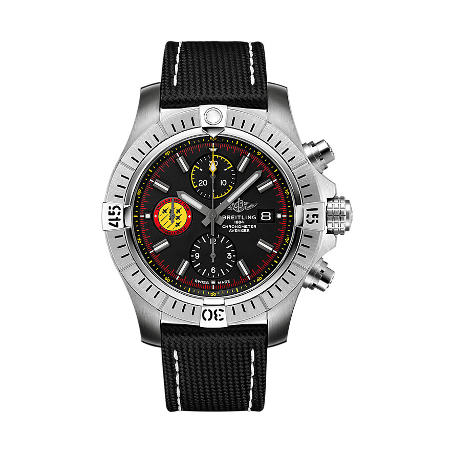 Breitling Herrenuhr Avenger Chronograph 45 Suisse A133171A1B1X1