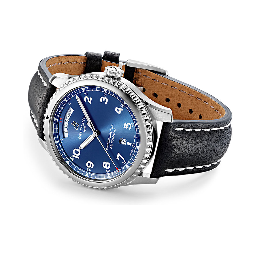 Breitling Herrenuhr Aviator 8 Automatic Day & Date 41 A45330101C1X1
