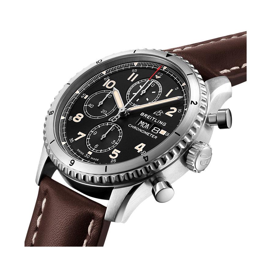 Breitling Herrenuhr Aviator 8 B01 Chronograph 43 A13316101B1X3