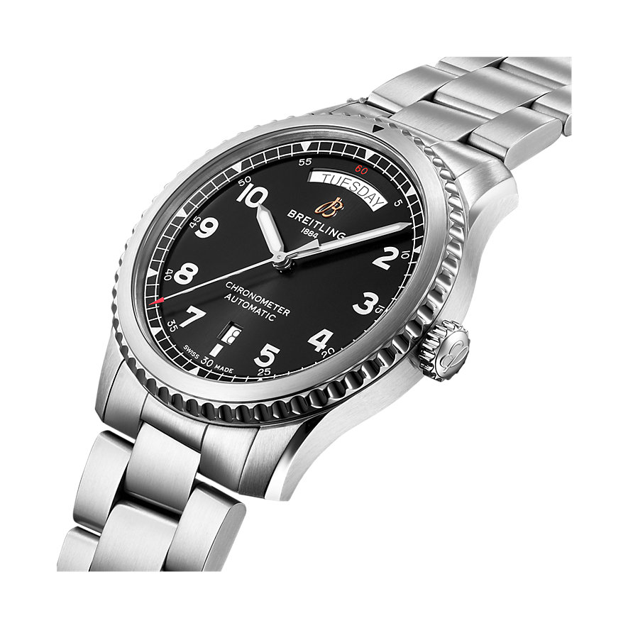 Breitling Herrenuhr Navitimer 8 Automatic Day & Date 41 A45330101B1A1