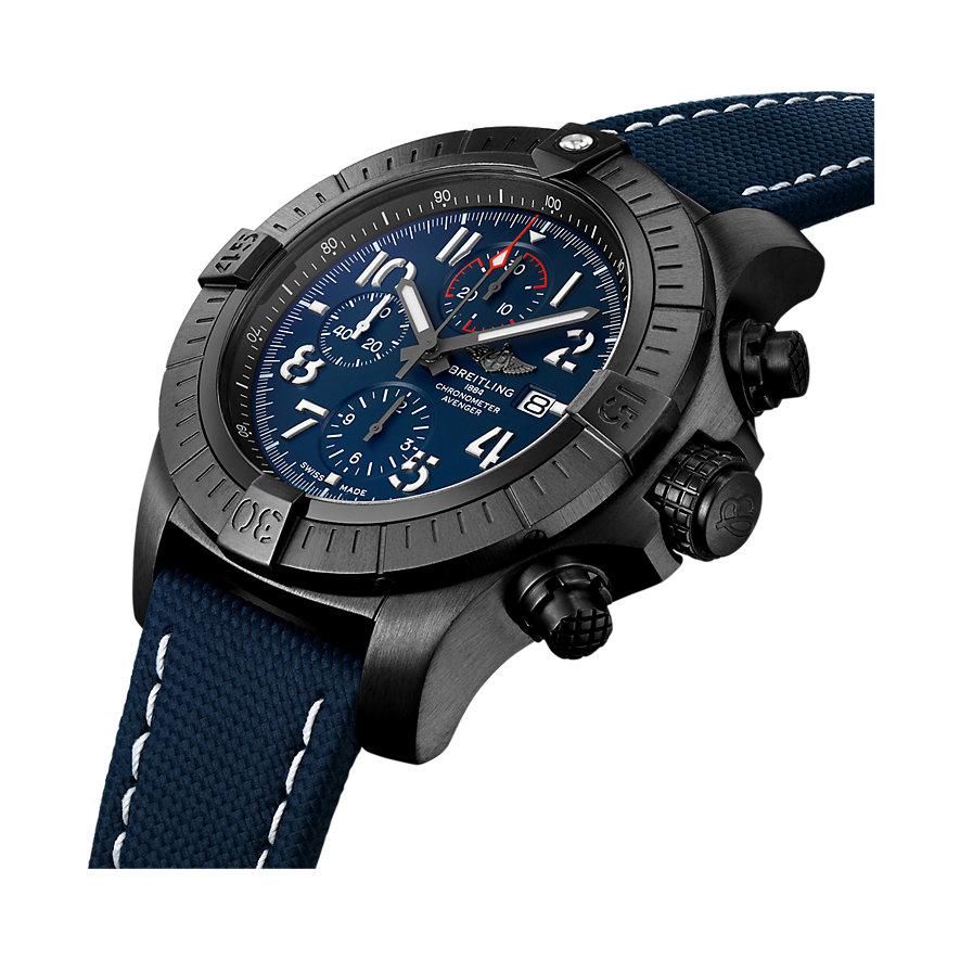 Breitling Herrenuhr Super Avenger Chronograph 48 V13375101C1X1