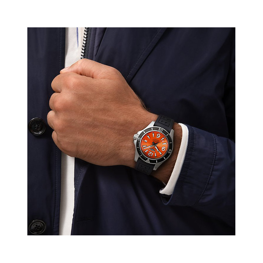 Breitling Herrenuhr Superocean   A17366D71O1S1