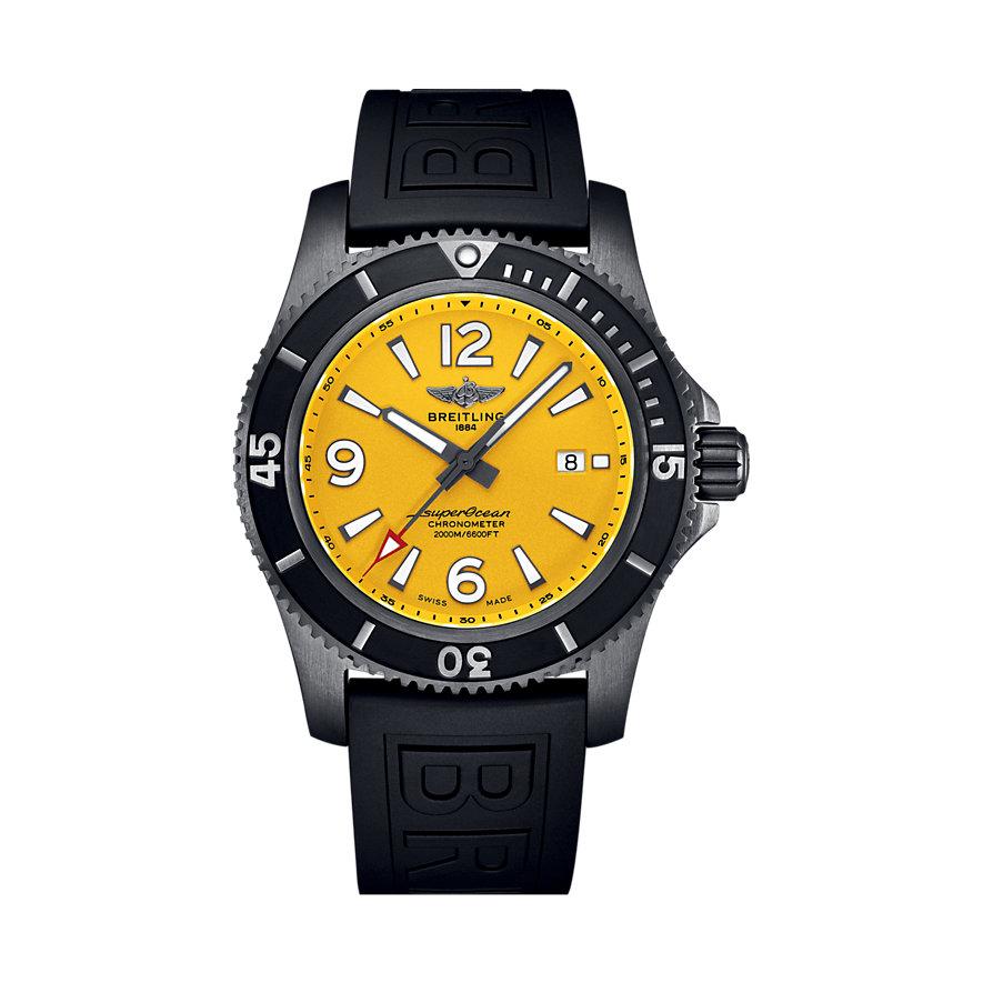 Breitling Herrenuhr Superocean Automatic 46 Black M17368D71I1S1