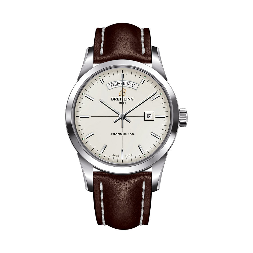 Breitling Herrenuhr Transocean Day and Date A4531012/G751/438X/A20D.1
