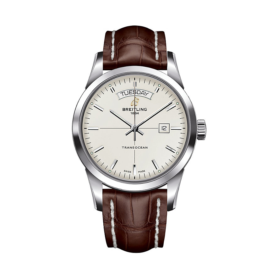 Breitling Herrenuhr Transocean Day And Date A4531012/G751/739P/A20BA.1