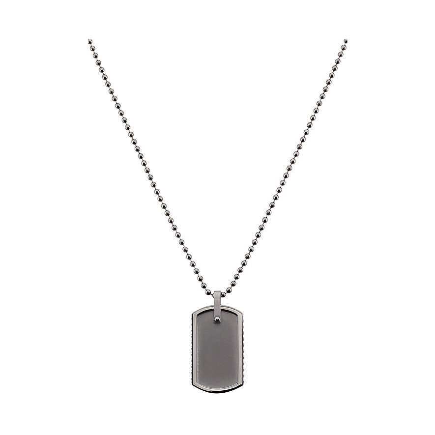 C-Collection by CHRIST Dog Tag Herrenkette