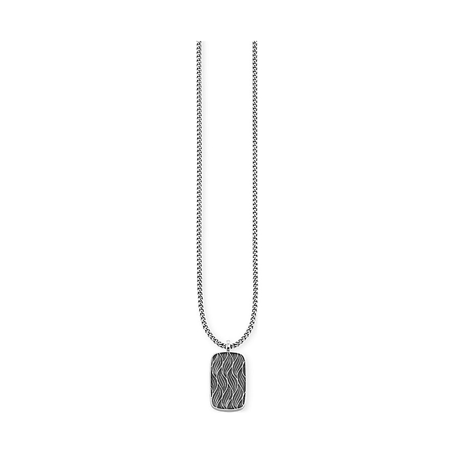 Caï  Dog Tag Herrenkette Nautic Travel C4263N/90/00/60