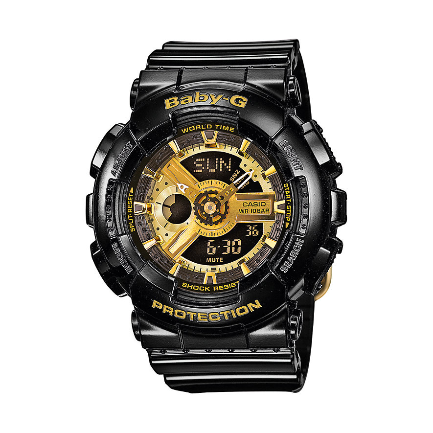 Casio BABY-G Damenchronograph  BA-110-1AER